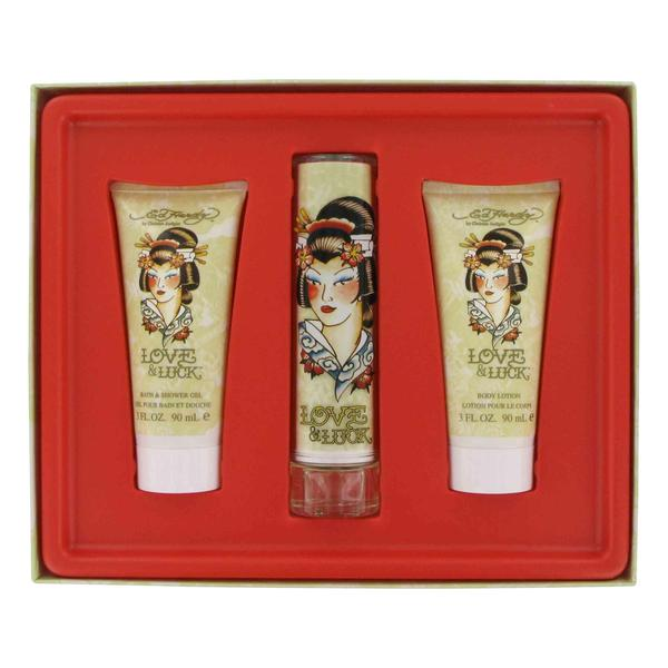 Christian Audigier Love & Luck Women's Fragrance Gift Set