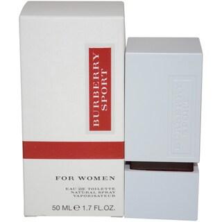 Burberry Sport Women's 1.7-ounce Eau de Toilette Spray