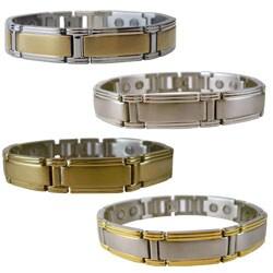 Men's Magnetic Brushed Stainless Steel Bracelet