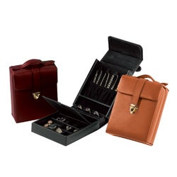 Royce Leather Ultra Bonded Leather Women's Pocketbook Jewelry Case