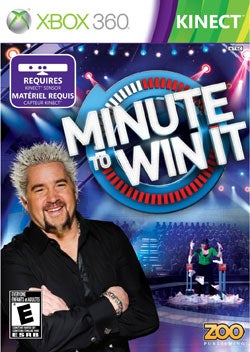 Xbox 360 - Minute To Win It (Kinect)