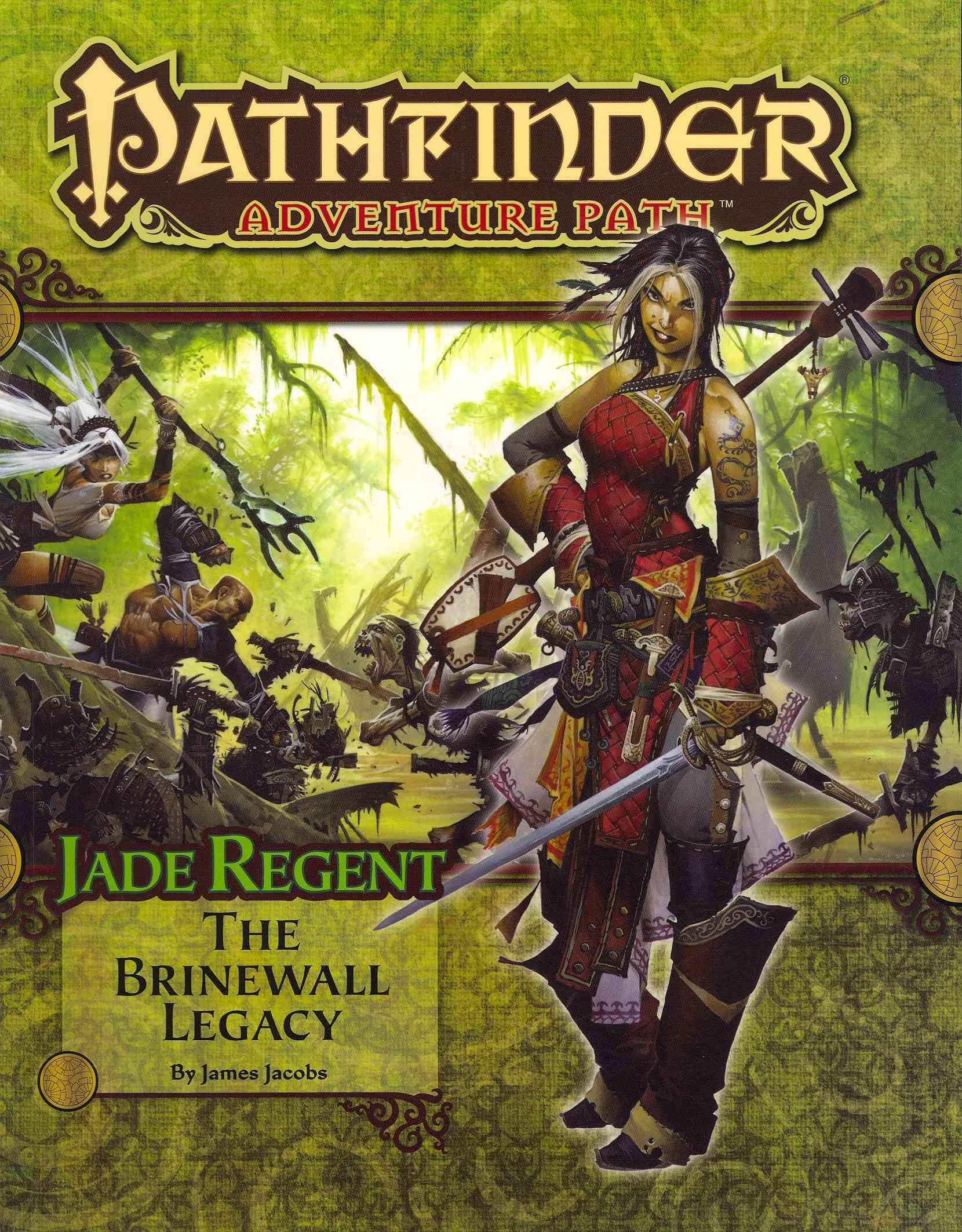 Jade Regent: The Brinewall Legacy (Paperback)
