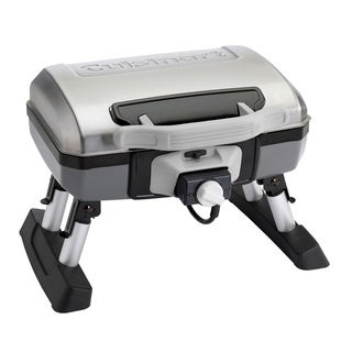 Cuisinart CEG-980T Portable Grey/ Black Outdoor Electric Tabletop Grill