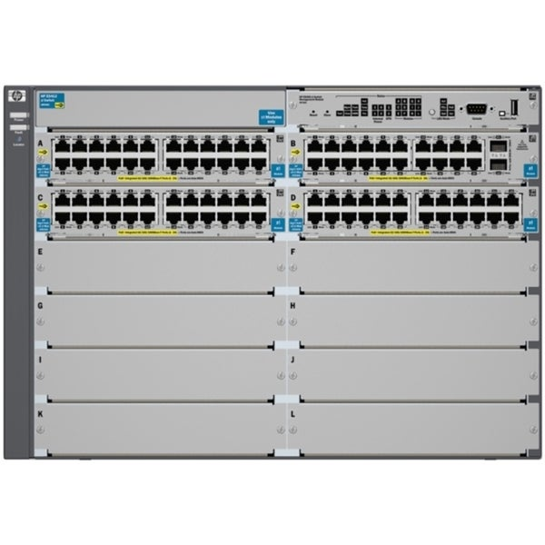 HP E5412-92G-PoE+/2XG-SFP+ v2 zl Switch Chassis