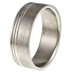 Men's Titanium Lined Band
