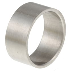 Stainless Steel Wide Satin Finish Band