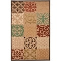 Woven Equinox Natural Essential Indoor/Outdoor Moroccan Tile Rug (8'8 x 12')