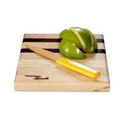 U-Board Small Hard Maple Wood and Walnut Cutting Board
