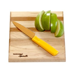 U-Board Small Hard Maple Wood and Cherry Cutting Board