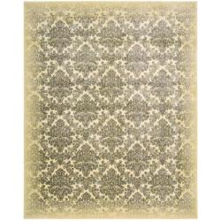 Nourison Chambord Ivory Floral Rug (7'9 x 10'10)