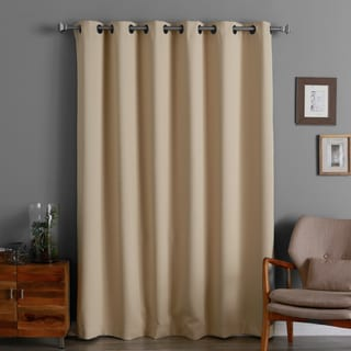 Aurora Home 84-inch Wide-width Thermal Blackout Curtain Panel