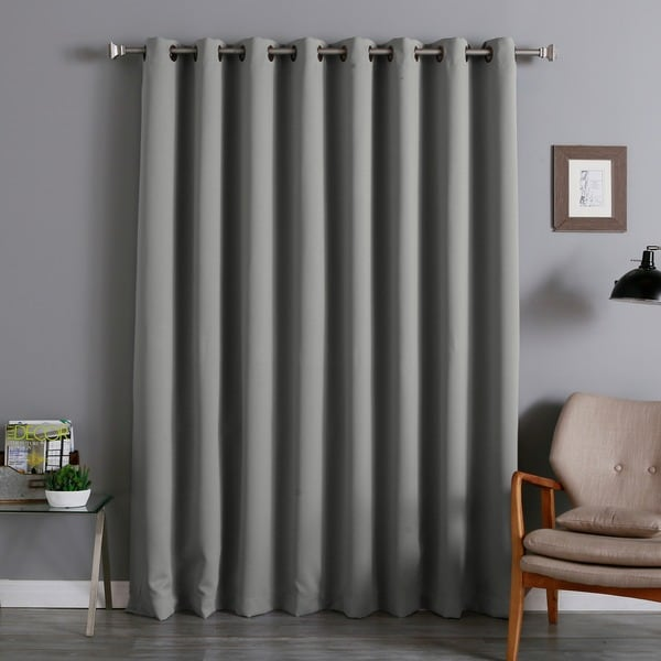 Aurora Home Extra Wide Thermal 96-inch Blackout Curtain Panel