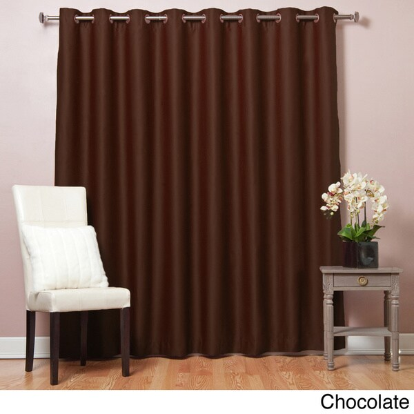 Lights Out Extra Wide Thermal 96 Inch Blackout Curtain Panel Overstock Shopping Great Deals