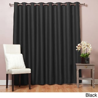 Extra Width Thermal 84 inch Blackout Curtain Panel