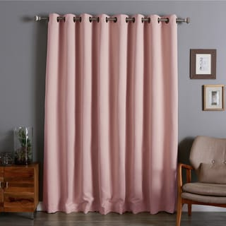 Lights Out Extra Wide Thermal 100 x 84-inch Blackout Curtain Panel