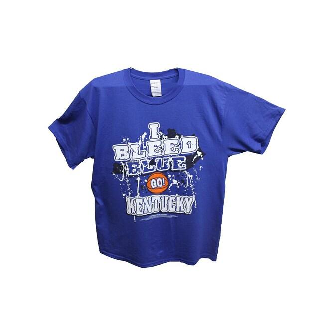 Men's 'I Bleed Blue - GO Kentucky' T-shirt