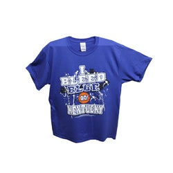Men's 'I Bleed Blue - GO Kentucky' T-shirt