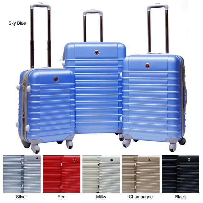 CalPak Cyprus 3-piece Expandable Hardside Spinner Luggage Set