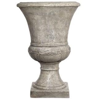 SomerTile Mediterranean Stoneware 16x24-inch Florence Planter