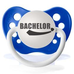 Personalized Pacifiers Bachelor Pacifier in Blue