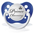 Personalized Pacifiers Blue Prince Charming Pacifier
