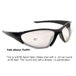 Crystal Black BTB 860 Sport Sunglasses