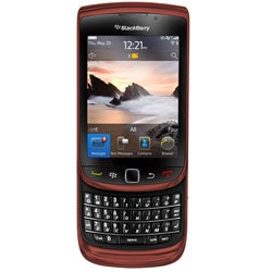 BlackBerry Torch 9800 Unlocked GSM Red Cell Phone