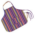 Cotton Children's Rainbow Apron (Guatemala)