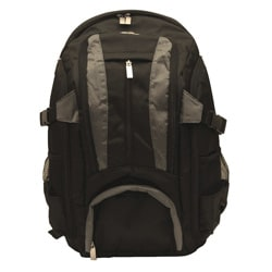 Imagine Eco-friendly Small Black 17-inch Laptop Backpack