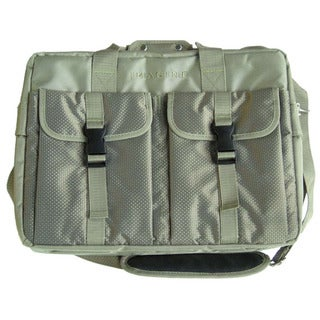 Imagine Eco-friendly Green Fabric Laptop Briefcase
