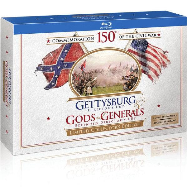 Gettysburg/Gods and Generals Limited Collector's Edition (Blu-ray Disc) 7853921