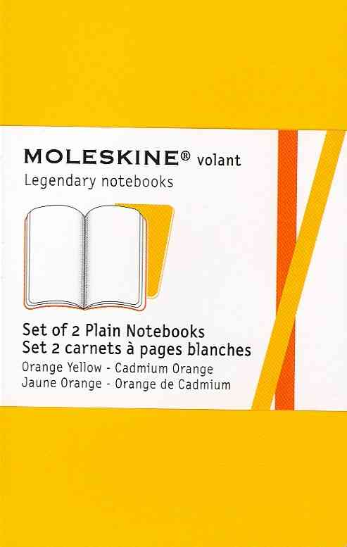 Moleskine Volant Orange Yellow / Jaune Orange Xs Plain Notebook (Notebook / blank book)