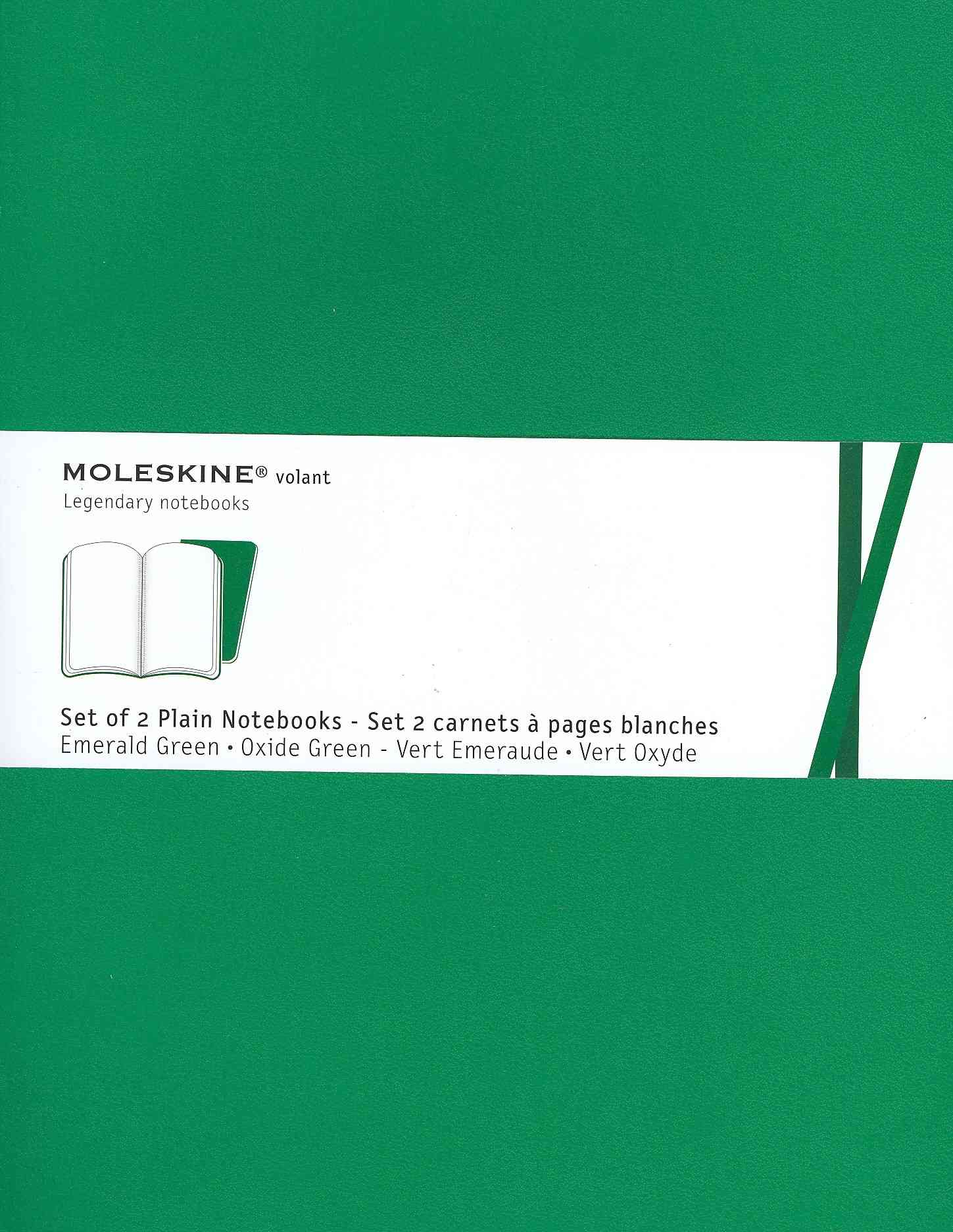Moleskine Volant Emerald Green / Oxide Green Extra Large (Notebook / blank book)
