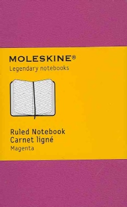 Moleskine Ruled Notebook Carnet Ligne Magenta (Notebook / blank book)