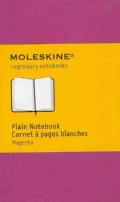 Moleskine Plain Extra Small Dark Pink Notebook (Notebook / blank book)
