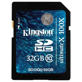 Kingston Ultimate X SD10G2/32GB 32 GB Secure Digital High Capacity (S