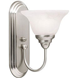 Indoor 1-light Brushed Nickel Wall Sconce