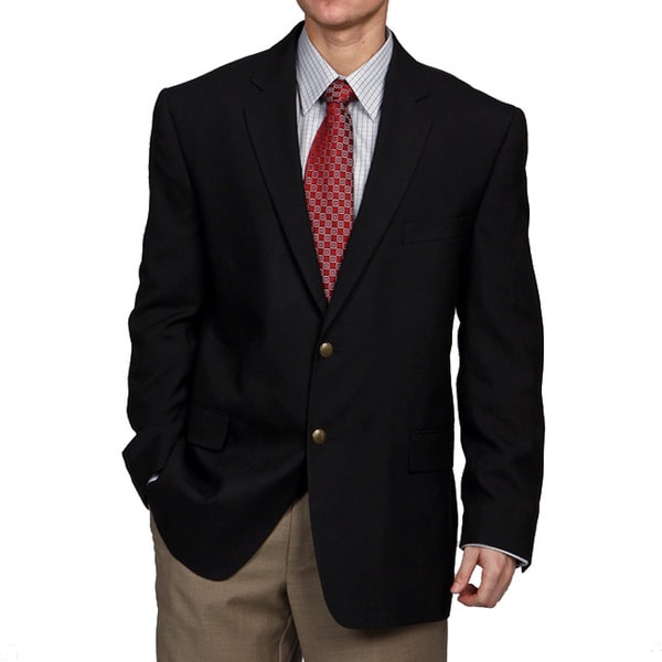 Men's and women's blazers in navy, black, gray, brown, green, royal blue, orange, gold, white, beige and maroon - burgundy. Carreer apparel and uniform blazers for men and women.