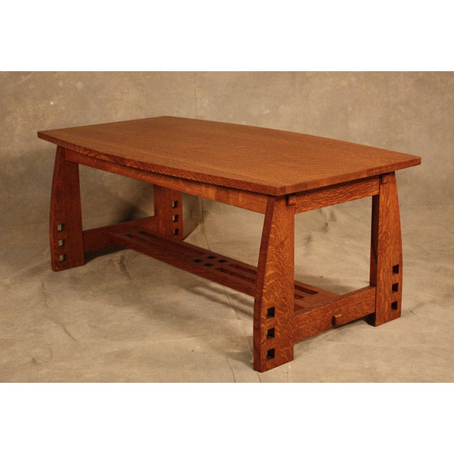Wood Revival Mission Coffee Table Overstock Shopping The Best Prices On Insten Coffee Sofa
