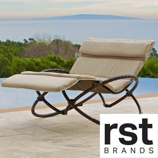 RST Delano Double Orbital with Cushion Lounger Set