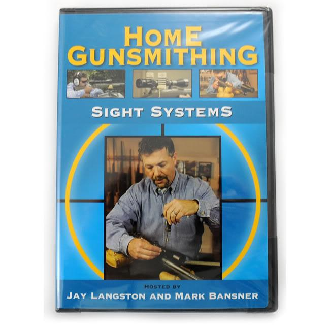 Home Gunsmithing Sight Systems DVD