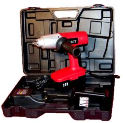 OEM 24-volt Cordless Impact Wrench Driver with 2 Batteries