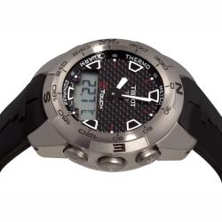 Tissot Men's 'T-Tactile T-Touch Expert' Multifunction Titanium Watch