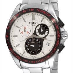 Tissot Men's 'Veloci-T' Stainless Steel Chronograph Watch