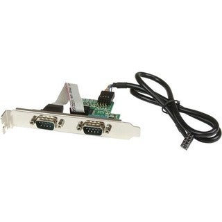StarTech.com 24in Internal USB Motherboard Header to 2 Port Serial RS