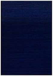 Hand-tufted Pulse Blue Wool Rug (5' x 8')