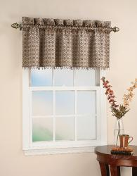 Mallorca 18-inch Beaded Window Valance