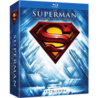 The Superman Motion Picture Anthology Box Set (Blu-ray Disc)