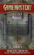 Gamemastery Map Pack: Shrines (Sheet map)