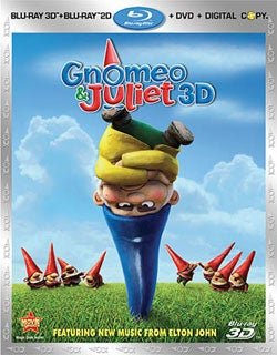Gnomeo and Juliet 3D (Blu-ray/DVD)